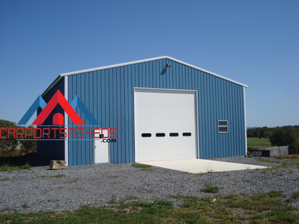 Custom Prefab Metal Garage
