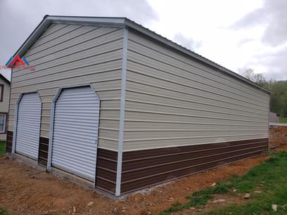 24x40 Metal Garage