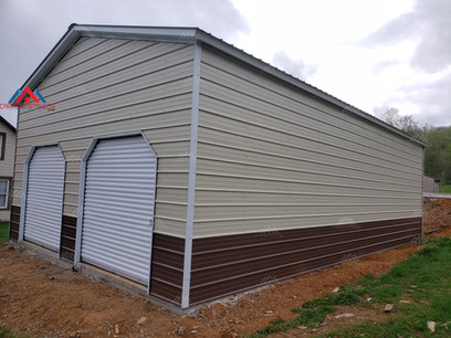 24x40 Prefab Metal Garage
