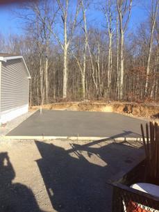 """4"""" Inch Concrete pad"""