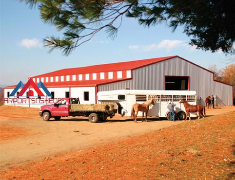 Large Commercial Carolina Barn