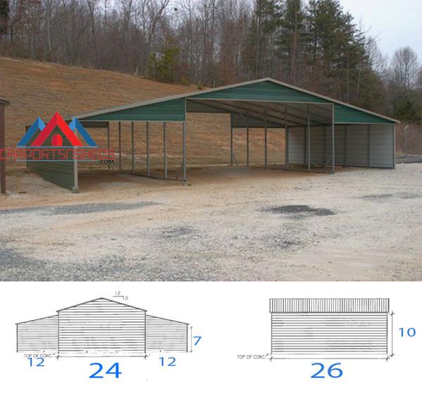 44x26x10 Seneca Barn