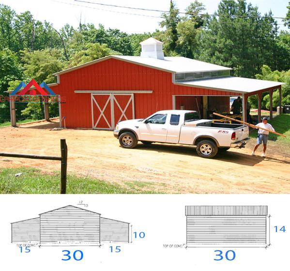 Custom Red Barn