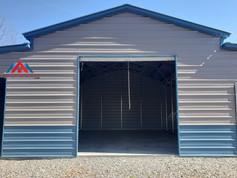 front center door on the 50x30 metal barn