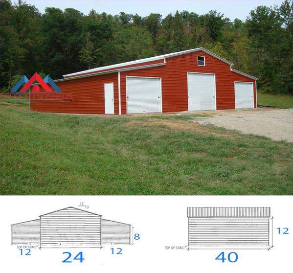 48x40x12 Barn