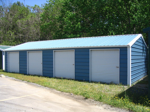 Storage Building Vertical Style 20x41x10 Carports