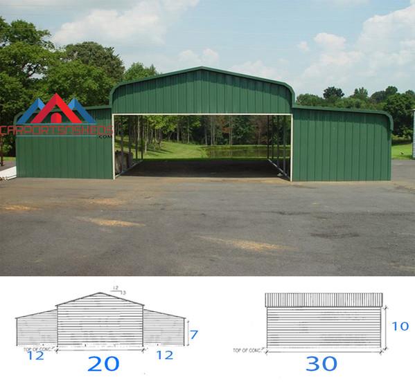 42x30x10 Horse Barn