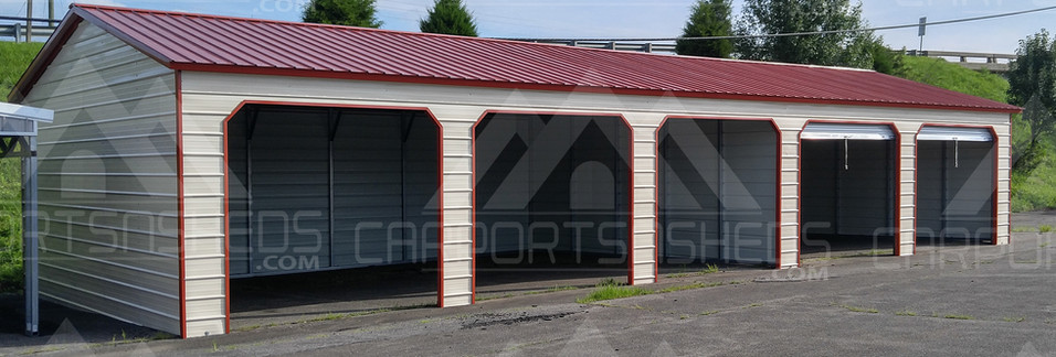 Metal Garage, 5 car garage
