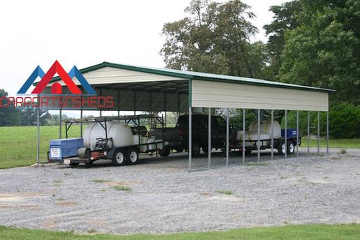 Large Metal RV Cover Carport