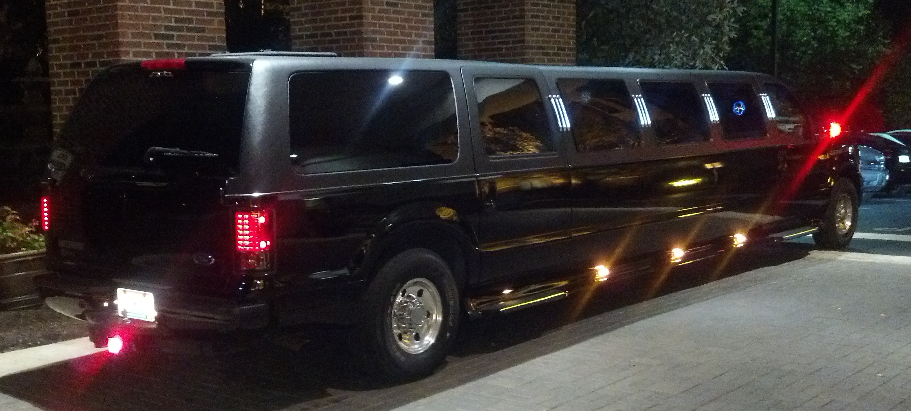 Excursion Exterior at Night