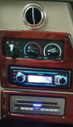 Limousine Rear Control Panel