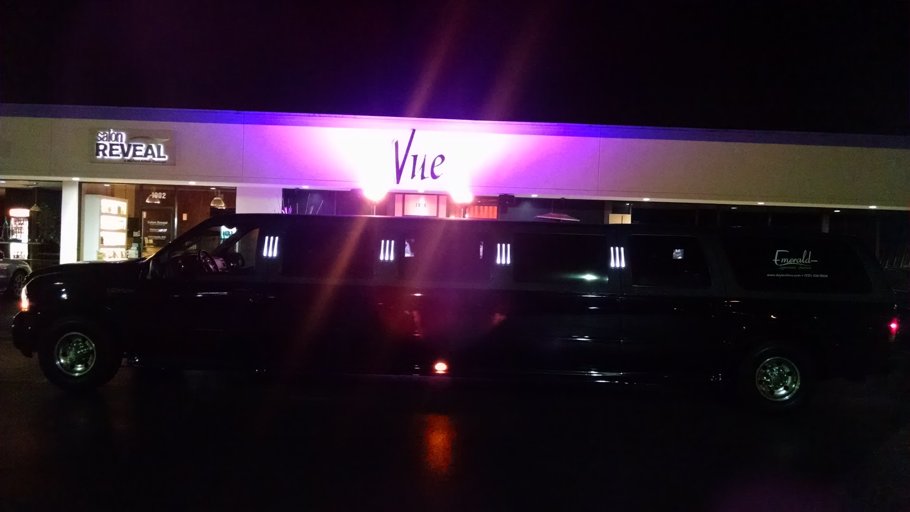 Limo at Vue Nightclub