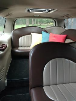 12 Passenger Limo VIP Section