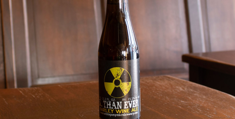 Strongest Than Ever (Barley Wine, 15,1%)