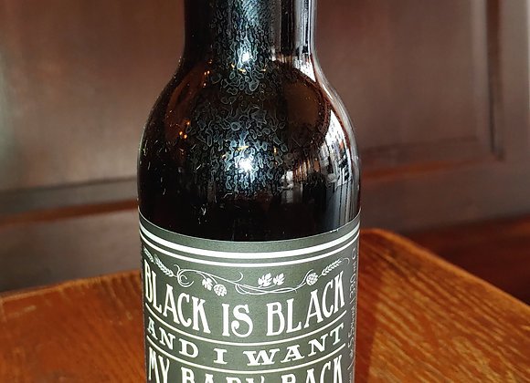 Black is Black and I Want My Baby Back (Black IPA, 5,5%)