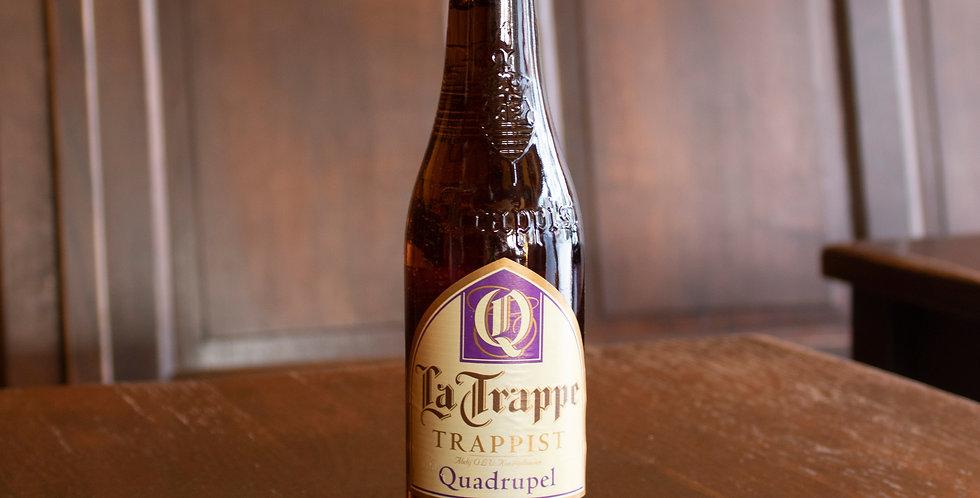La Trappe quadrupel (bruin, 10%)