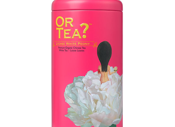 Tin Canister Lychee White Peony