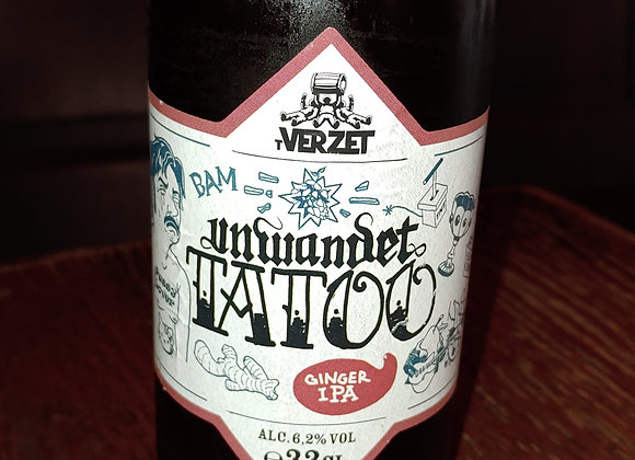 Unwanted Tatoo (Ginger NEIPA, 6.2%)