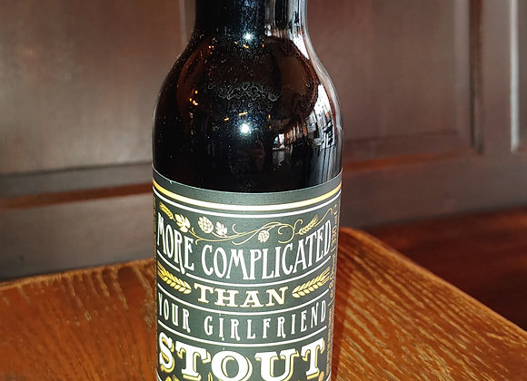 More Complicated Than Your Girlfriend Stout (stout,8%)