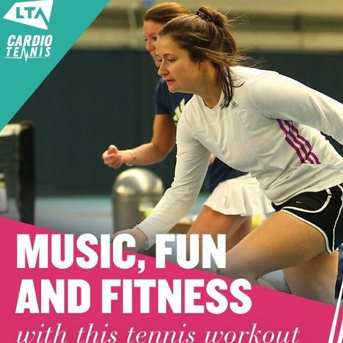 SBGS Saturday Cardio Tennis - 08:00am