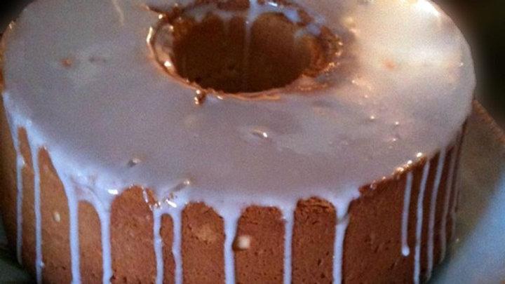 Glazed Pound Cake