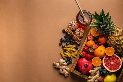 Healthy nutrition during flu, cold seaso
