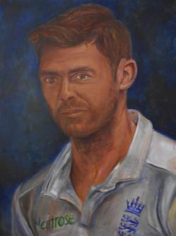 Jimmy Anderson portrait