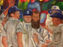 Wicket celebrations