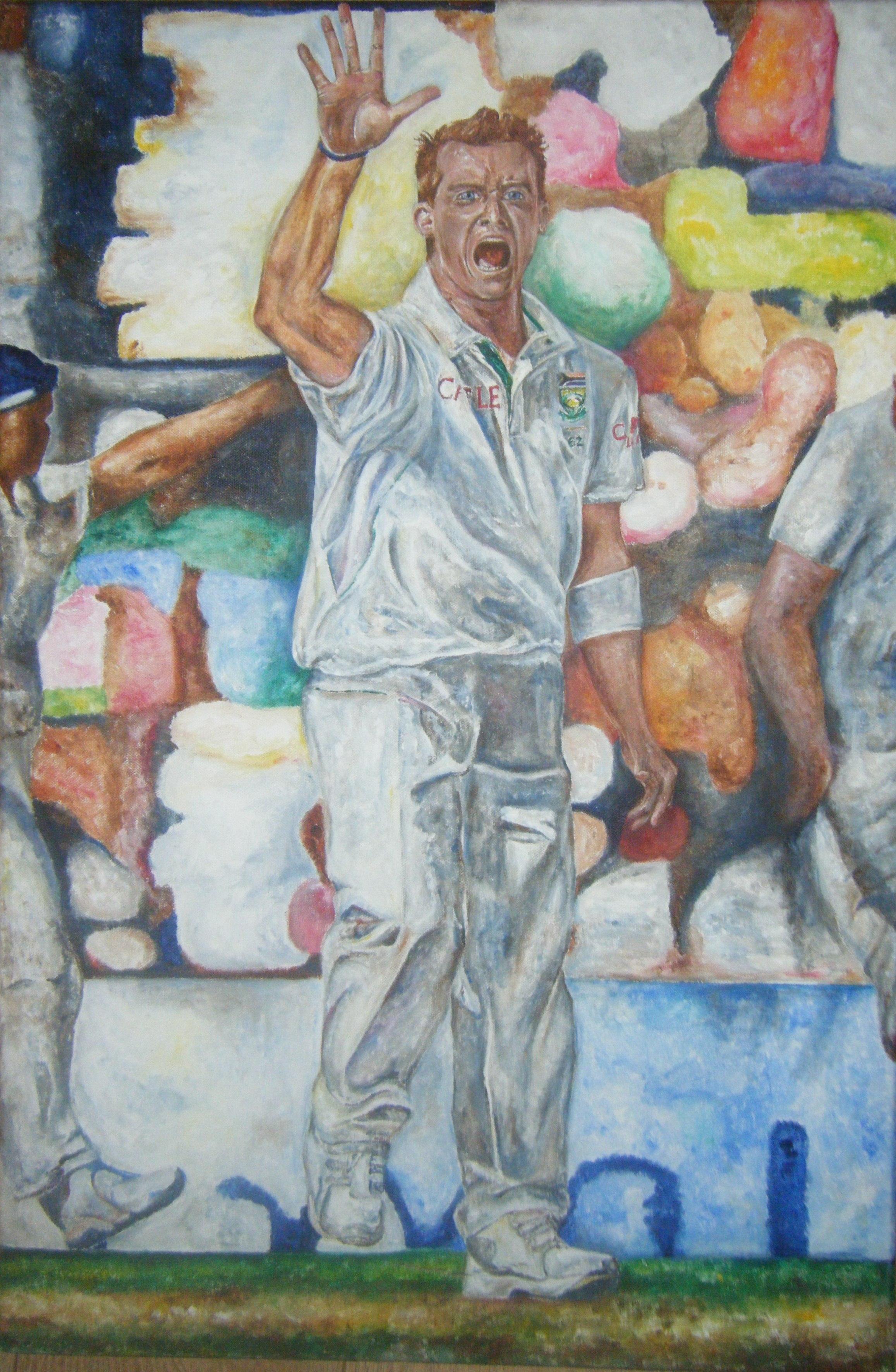 Dale Steyn portrait