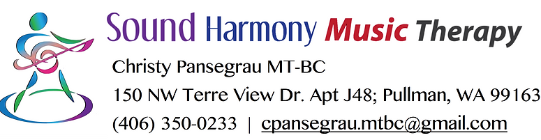 Logo Banner Sound Harmony Music Therapy
