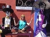 Rachel Hope Soul Sisters engaging with spirit with Day of the Dead Mexico