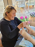 Soul Sisters retreats include a relaxing and reenergising reflexology session