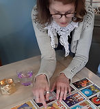 Tarot reading with Rachel Hope online or included on retreats UK