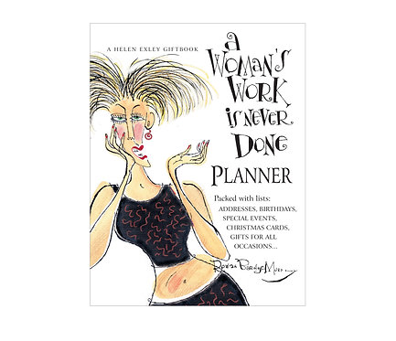 A Woman's Work Planner