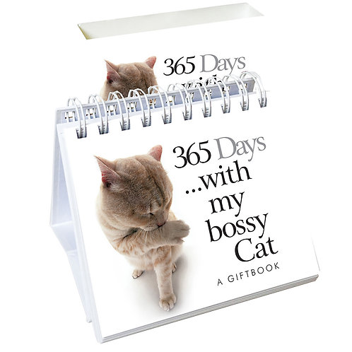 365 Days ....with my bossy Cat