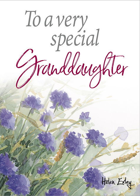To A Very Special Granddaughter - TGTK