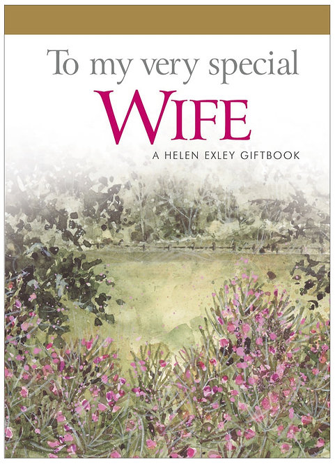 To my very special Wife - TGTK