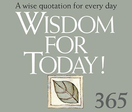 365 Wisdom for Today