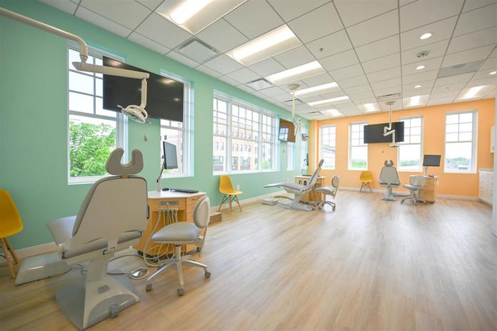 Patient Treatment Area Open Bay 1