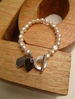 Ivory Fresh Water Pearl Bracelet