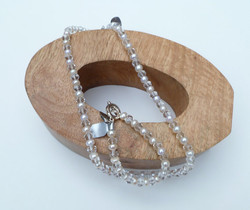Fresh Water Pearl and Glass Necklace