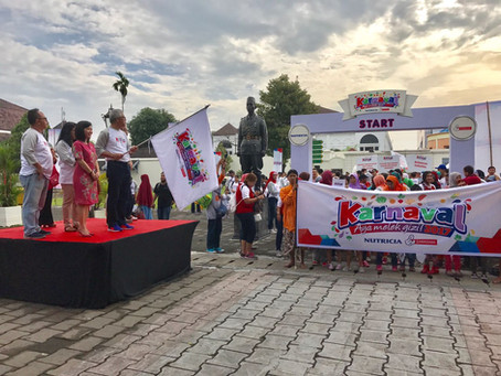 Karnaval Ayo Melek Gizi - Hari Gizi Nasional