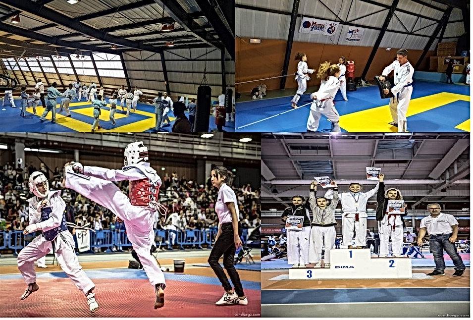 Medoc taekwondo team