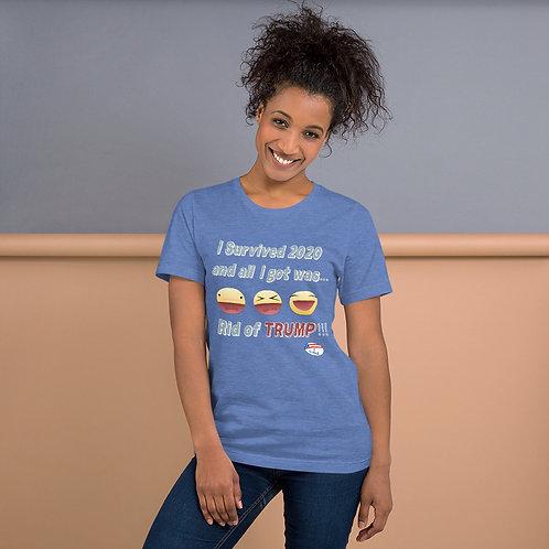 I Survived 2020... Short-Sleeve Unisex T-Shirt