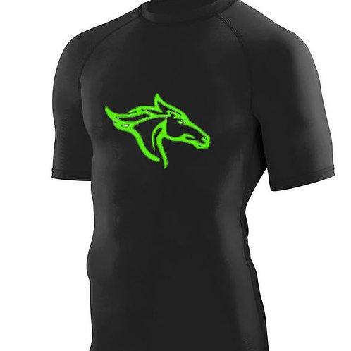 Boys Compression Shirt-Short Sleeve