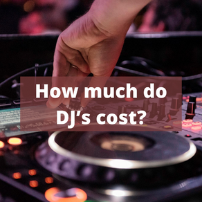 How much do DJ's cost?