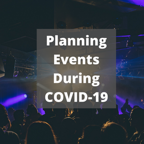 Planning for an event during COVID-19