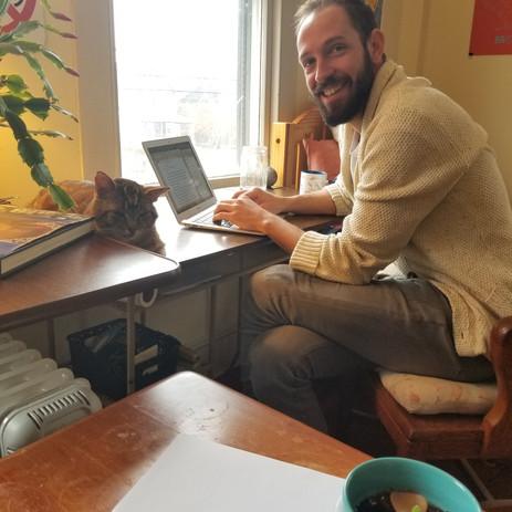 Beau writes fiction