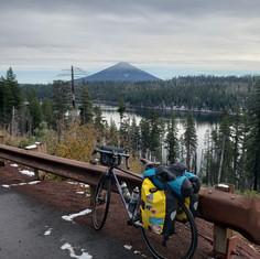 The Queen climbing Santiam Pass in Oregon