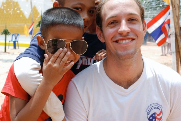 and Thailand, where he was in the Peace Corps from 2009 - 2011